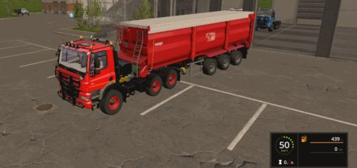 Мод тягач Tatra Phoenix by Stevie v1.0.0.7 Farming Simulator 17