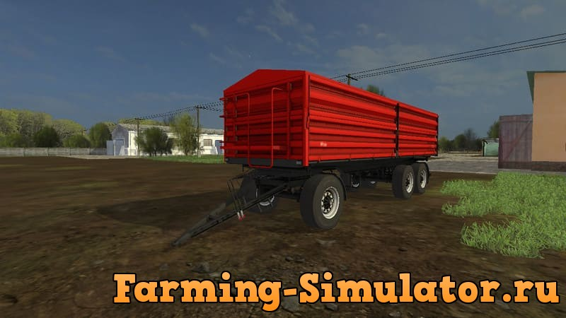 Мод прицеп AGROGEP AP 3018 V1.0 Farming Simulator 2017
