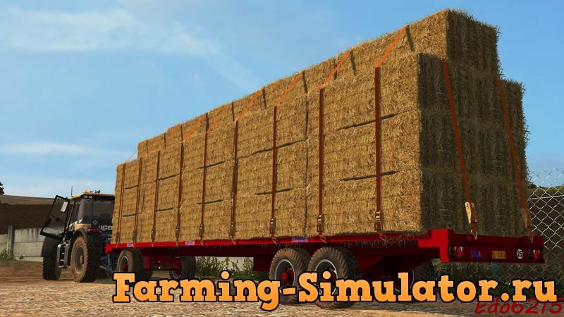 Мод прицеп BICCHI 2A200R OLD V1.0.2 Farming Simulator 2017