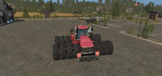 Мод трактор CASEIH STEIGER 1000 V1.0 Farming Simulator 2017