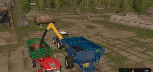 Мод прицеп перегрузчик Egritech БНП-20 v 1.0 Farming Simulator 17