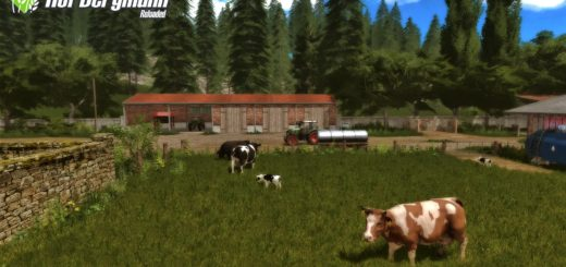 Мод карта Hof Bergmann – Reloaded v1.0.0.7 RUS Farming Simulator 17