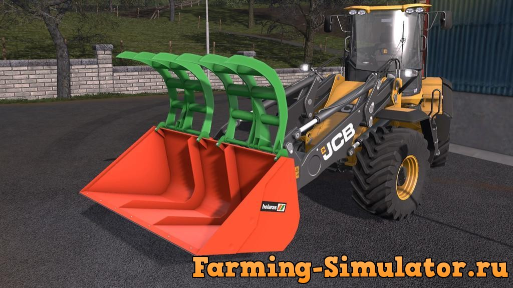 Мод ковш HOLARAS KROKO 250XL V1.0 Farming Simulator 17