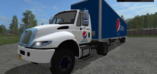 Мод прицеп Pepsi Wabash 53ft Dry Van v1.0 Farming Simulator 2017