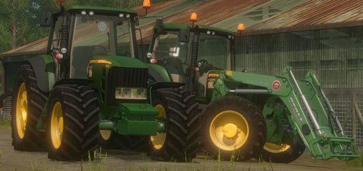 Мод трактор JOHN DEERE 6930 V1.1 Farming Simulator 2017