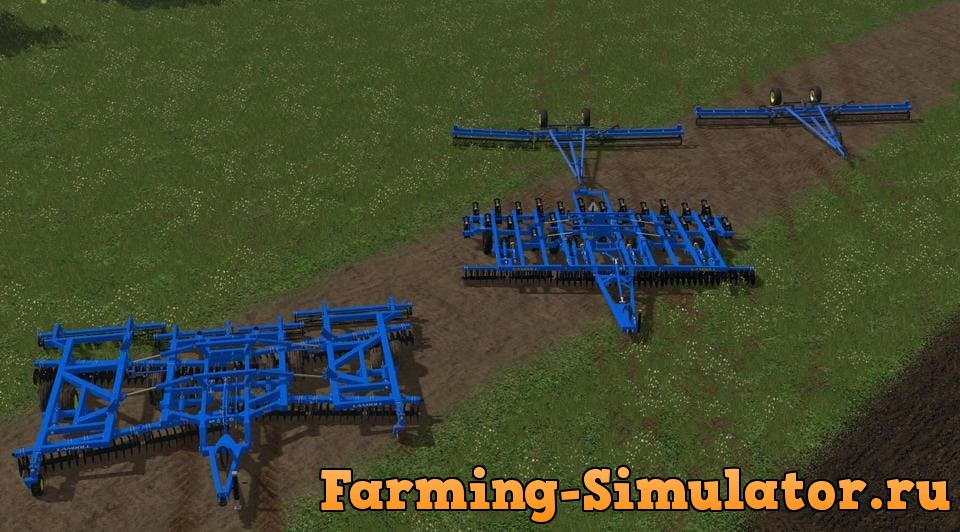 Мод ПАК SEEDBED COMBINATION LANDOLL V 4.7.2 Farming Simulator 2017