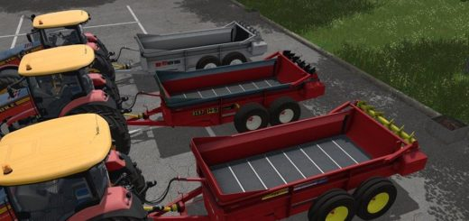Мод прицеп SPREADER SET DH V4.0 Farming Simulator 17