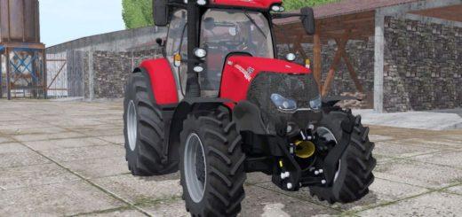 Мод трактор CASE IH MAXXUM 125 CVX V3.0 Farming Simulator 2017