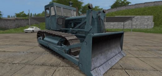 Мод трактор ЧТЗ Т-100 и отвал v1.1.0.0 Фермер Симулятор 2017