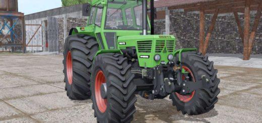 Мод трактор DEUTZ D 100 06 V1.0 Farming Simulator 17