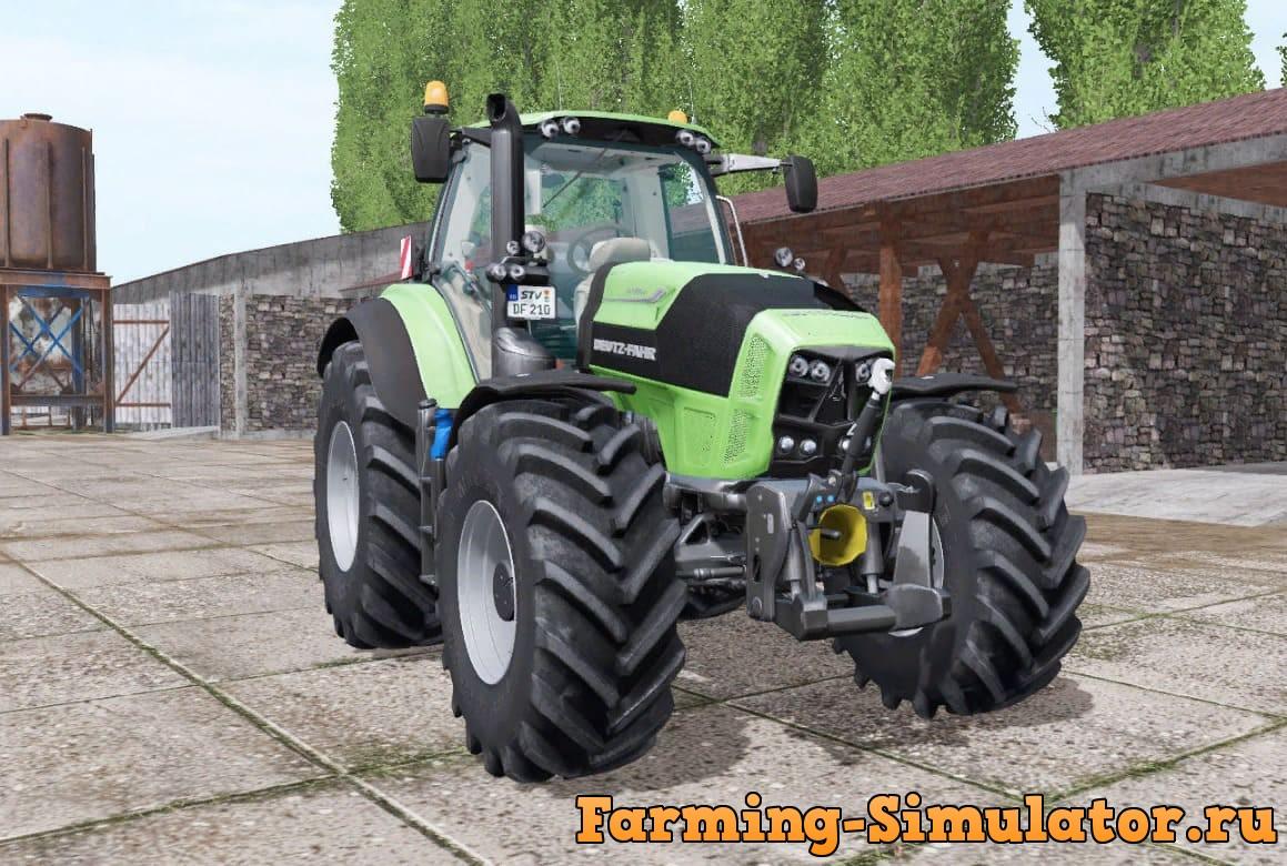 Мод трактор DEUTZ-FAHR AGROTRON 7210 TTV IC FUNCTIONS V1.1.1 FS17