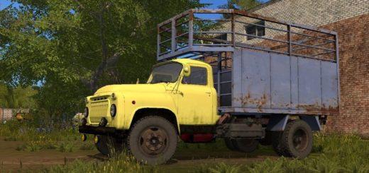 Мод грузовик ГАЗ 52 V1.0 Фарминг Симулятор 2017