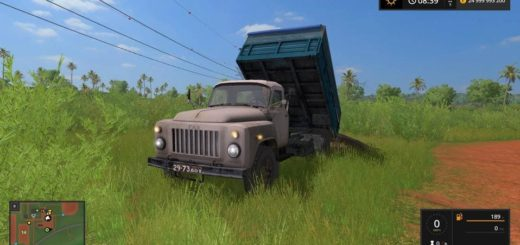 Мод грузовик Газ-53 edit v1.0 Фермер Симулятор 2017