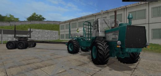 Мод трактор XTЗ T-150K Лecoвoз v1.0 gear box Фарминг Симулятор 2017