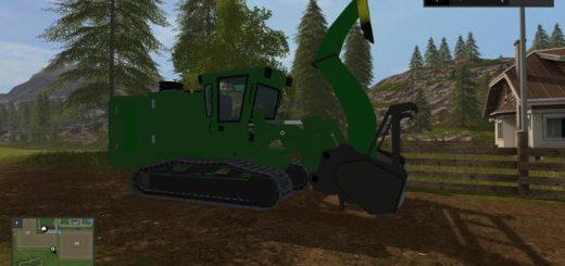 Мод JOHN DEERE CHIPPER V2.0 Farming Simulator 2017