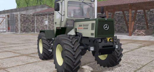 Мод трактор MERCEDES-BENZ TRAC 1000 INTERCOOLER NEUE FELGEN V1.0 FS17