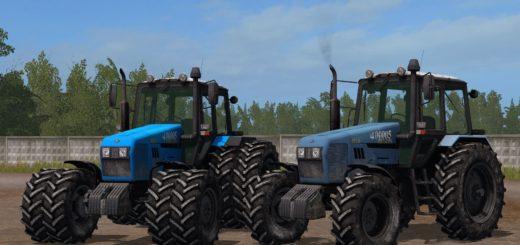 Мод трактор МТЗ 1221.2 V1.0 Фарминг Симулятор 2017