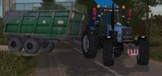 Мод трактор МТЗ 1221 V1.0 Фарминг Симулятор 2017