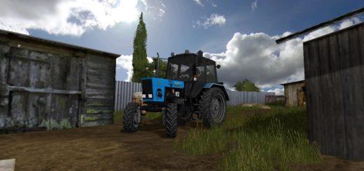 Мод трактор МТЗ-82.1 Белорус v2.0 Фермер Симулятор 2017