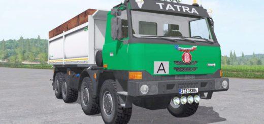 Мод грузовик TATRA T815 P TERRNO1 8X8 1998 V1.0 Фарминг Симулятор 2017