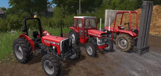 Мод трактор MASSEY FERGUSON 148 AND 253 V1.1.0.0 FS17