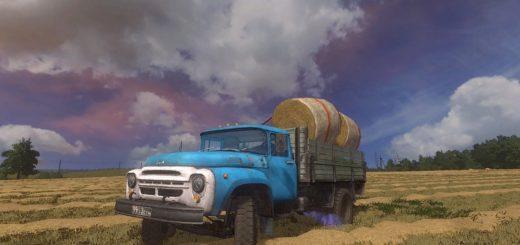 Мод ЗИЛ-130 БОРТОВОЙ И ТЯГАЧ V1.0 Фермер Симулятор 2017