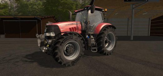 Мод трактор CASE IH PUMA CVX V1.0.0.0 Farming Simulator 2017