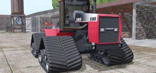 Мод трактор CASE IH STEIGER 9380 QUADTRAC V1.0 FS17