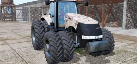 Мод трактор CASE IH MAGNUM 380 CAMO FS17