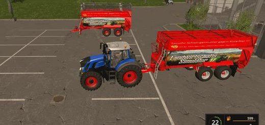 Мод прицеп CRAMP BANDIT 750 V1.1 Farming Simulator 17