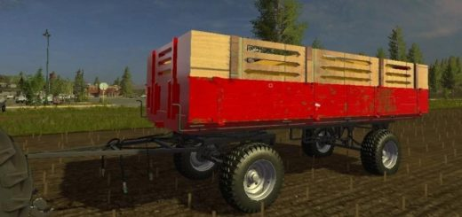 Мод прицеп DUBRAVA NOVA V1.0 Farming Simulator 2017