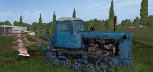 Мод трактор DT75 KAZAHSTAN V2.0 Фарминг Симулятор 2017