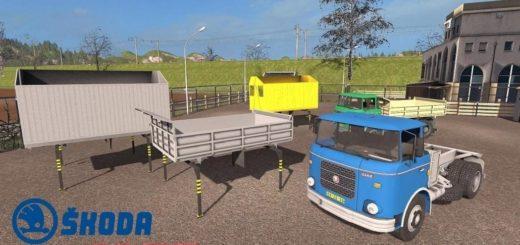 Мод грузовик SKODA LIAZ 706 V1.1.0.5 FS17