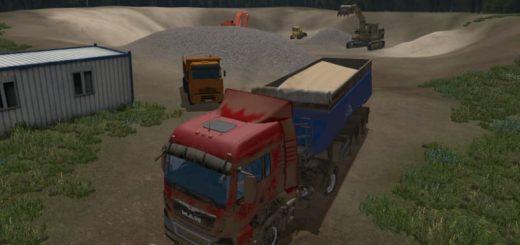 Мод грузовик MR MAN Farming Simulator 2017
