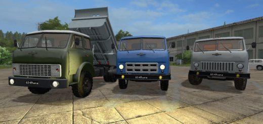 Мод грузовик МАЗ-5549 V 1.1 Фермер Симулятор 2017