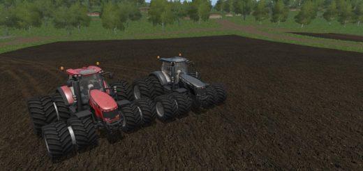 Мод трактор MASSEY FERGUSON 8700 RED AND BLACK V1.0 FS17