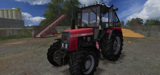 Мод трактор БЕЛАРУСЬ 952 АГРОПАНЬКА V1.0 Фермер Симулятор 2017