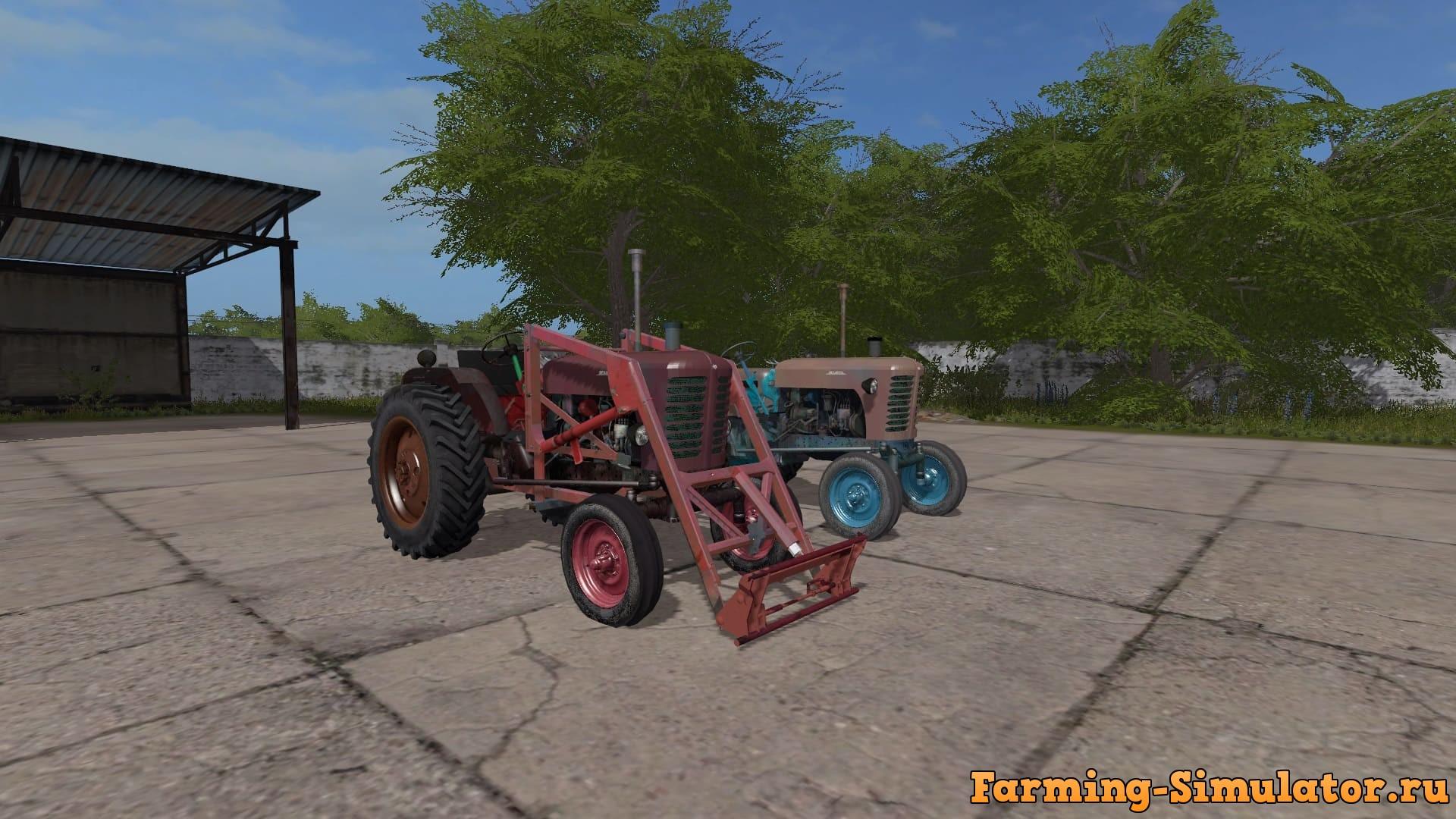 Мод ПАК ПАК МТЗ-5 V2.7 Фермер Симулятор 2017