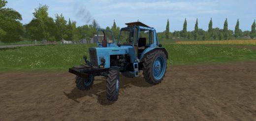 Мод трактор МТЗ-80 V1.0 Фермер Симулятор 2017