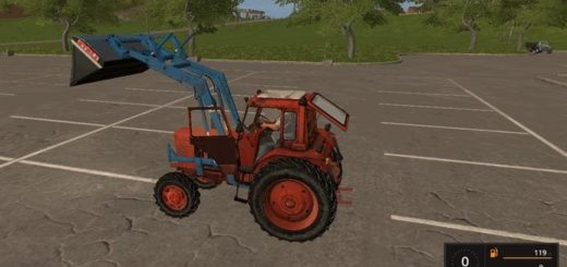 Мод трактор МТЗ 82 КУН V1.0 Фермер Симулятор 2017