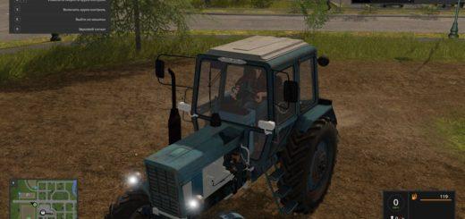 Мод трактор МТЗ-82 V1.0.0.0 Фарминг Симулятор 2017