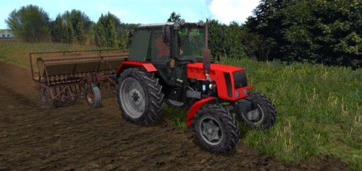 Мод трактор MR МТЗ 82 Фарминг Симулятор 2017