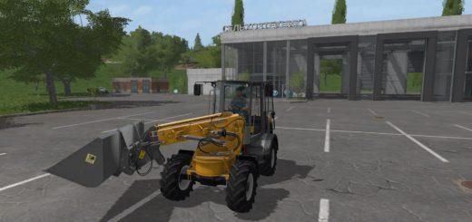 Мод погрузчик PAUS TSL 8.7 V1.0.0.0 Farming Simulator 2017