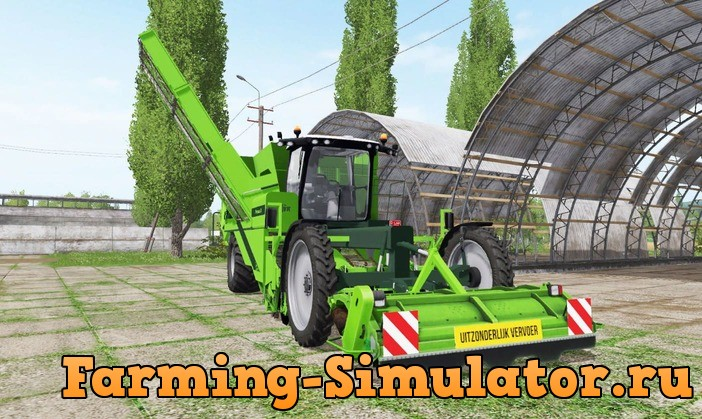 Мод комбайн AVR PUMA 3 V2.0 Farming Simulator 17