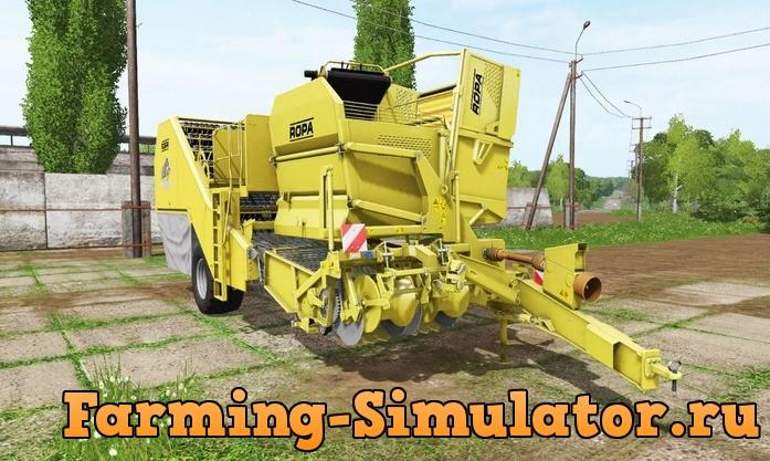 Мод комбайн ROPA KEILER 2 V1.0 Farming Simulator 2017