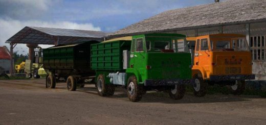 Мод грузовик STAR 244RS V1.0 Farming Simulator 2017