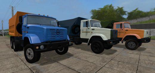Мод грузовик ЗИЛ 4514 V1.3.0.6 Фермер Симулятор 2017