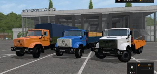 Мод грузовик ЗИЛ 133-Г40 V1.0.0.0 Фермер Симулятор 2017
