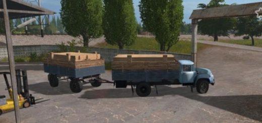 Мод грузовик ЗИЛ 130 БОРТОВОЙ V1.0.0.0 Фермер Симулятор 2017